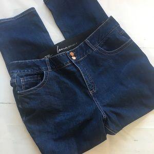 Lane Bryant Tummy Control Denim High Rise Jeans